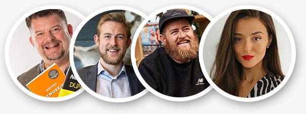 Photos of 2020 speakers