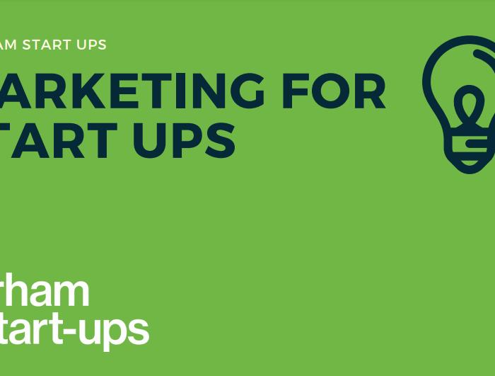 Marketing for start-ups guide